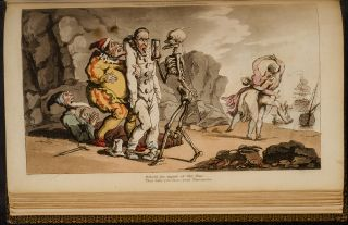 English Dance of Death, The …[And:] The Dance of Life…. Thomas ROWLANDSON, William COMBE