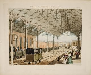 Six Coloured Views on the London and Birmingham Railway, BURY, homas T[albot