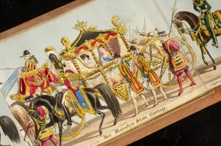 Fores' Correct Representation of the State Procession on the Occasion of the August Ceremony of Her Majesty's Coronation, June 28th, 1838
