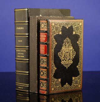 Charles the First. COSWAY-STYLE JEWELED BINDING, SANGORSKI, binders SUTCLIFFE, Hilaire BELLOC
