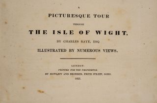 Picturesque Tour Through the Isle of Wight, A