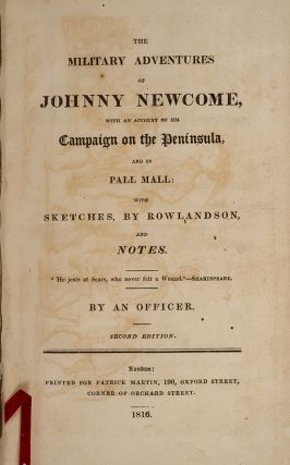 Military Adventures of Johnny Newcome, The