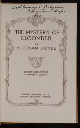 Mystery of Cloomber, The