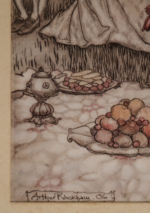 """""""The fairies sit round on mushrooms, and at first they are well behaved"""""""