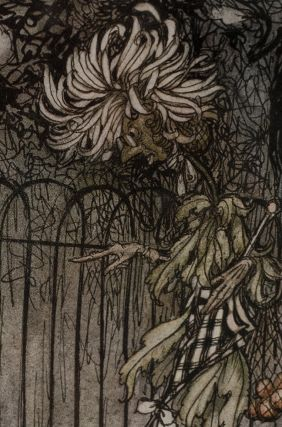 """""""A chrysanthemum heard her, and said pointedly, 'Hoity-tioty, what is this?'"""""""