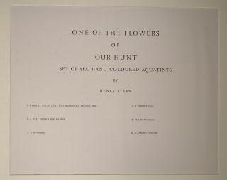 One of the Flowers of Our Hunt