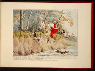 Sporting Discoveries, or The Miseries of Hunting in a series of seven plates,