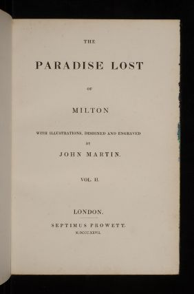 Paradise Lost of Milton, The