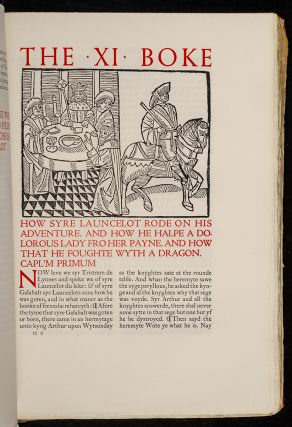 Noble & Joyous Boke Entytled Le Morte Darthur, The. Notwythstondyng it treateth of the byrth lyf and actes of the sayd Kynge Arthur: of his noble knyghtes of the Rounde Table, theyr merveyllous enquestes & adventures,