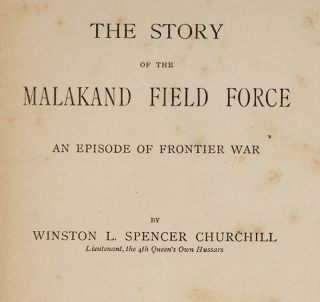 Story of the Malakand Field Force, The